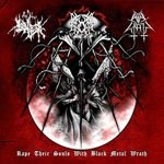 EVIL WRATH / THE TRUE ENDLESS / GROMM |Rape their souls with bla