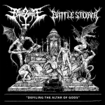 FETID ZOMBIE / BATTLESTORM | Defiling the altar of gods
